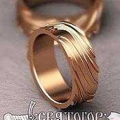 Украшения handmade. Livemaster - original item Gold Engagement Ring. Handmade.