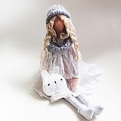 Куклы и игрушки ручной работы. Ярмарка Мастеров - ручная работа Тильда Валентинка. Handmade.