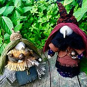 Украшения ручной работы. Ярмарка Мастеров - ручная работа Украшения: Интерьерные куклы Бабули Ягули. Handmade.