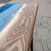 Столы ручной работы. Ярмарка Мастеров - ручная работа Стол лофт из ценных пород дерева. Handmade.