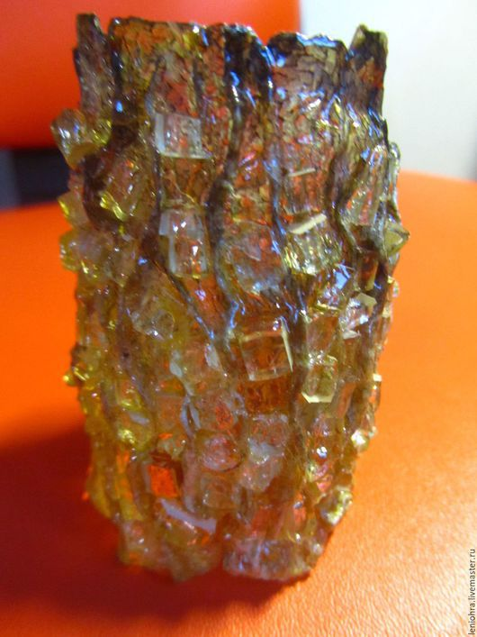 Браслеты ручной работы. Ярмарка Мастеров - ручная работа. Купить стекло 2. Handmade. Золотой, рыбья кожа, застёжка