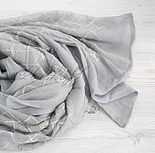 Wraps handmade. Livemaster - original item Silk scarf from Louis Vuitton