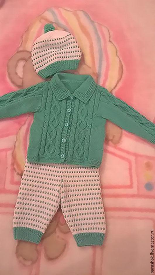 """Одежда для мальчиков, ручной работы. Ярмарка Мастеров - ручная работа. Купить Костюм детский """"Морячок"""". Handmade. Вязание на заказ"""