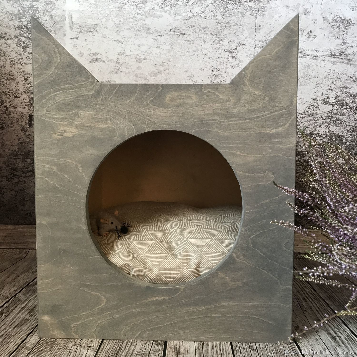 Wooden house for cats, Pet House, Moscow,  Фото №1
