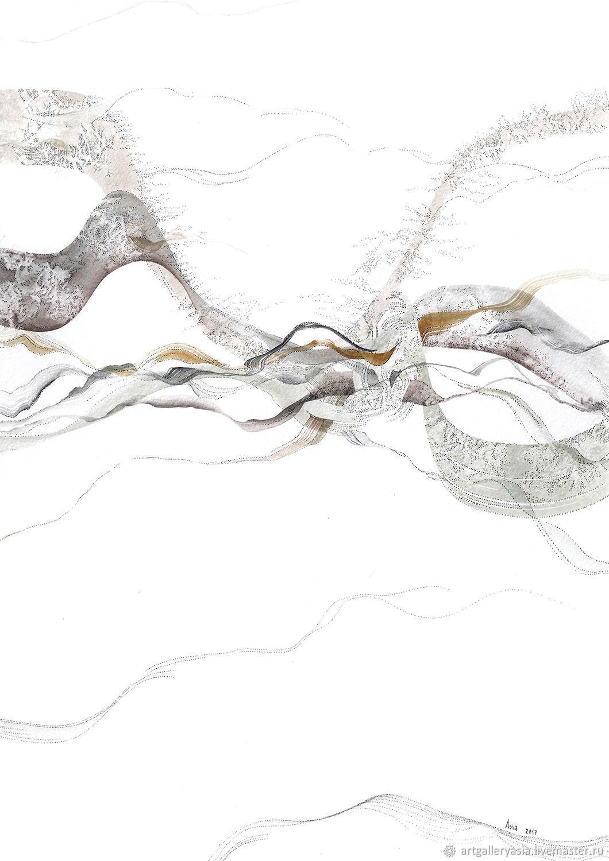 Продается. №1 из 4х работ серии `Воздух`.