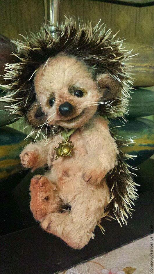 Мишки Тедди ручной работы. Ярмарка Мастеров - ручная работа. Купить Ёжик Йося (Тедди). Handmade. Коричневый, тедди-ёж