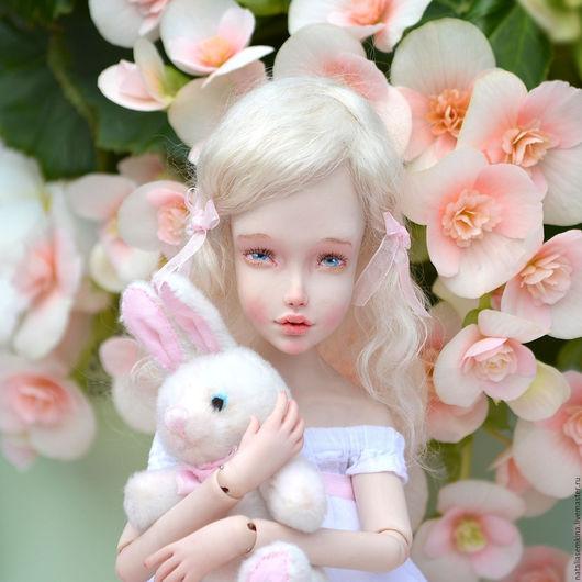 Коллекционные куклы ручной работы. Ярмарка Мастеров - ручная работа. Купить April. Handmade. Кукла, коллекционная кукла, шарнирка, пружины