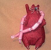 """Куклы и игрушки ручной работы. Ярмарка Мастеров - ручная работа Игрушка """"Кот ученый и сытый"""". Handmade."""
