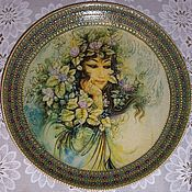 "Посуда ручной работы. Ярмарка Мастеров - ручная работа Тарелка ""Персидская красавица"". Handmade."