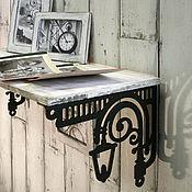 Для дома и интерьера ручной работы. Ярмарка Мастеров - ручная работа Кронштейны для полки Старый фонарь. Handmade.