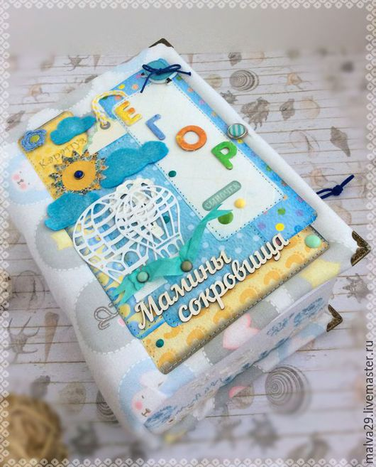 Подарки для новорожденных, ручной работы. Ярмарка Мастеров - ручная работа. Купить Мамины сокровища.Воздушные шары. №3. Handmade. Разноцветный