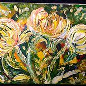 Картины и панно handmade. Livemaster - original item Fabulous flowers.. Handmade.