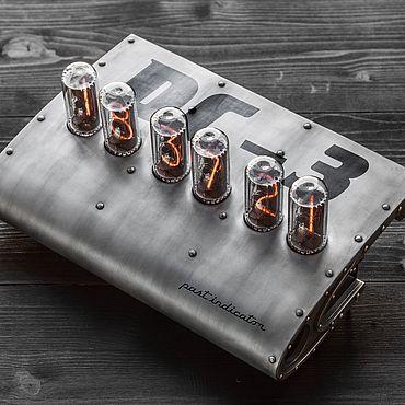 Для дома и интерьера ручной работы. Ярмарка Мастеров - ручная работа Ламповые часы Крыло  DC-3. Handmade.