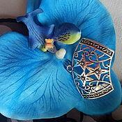 Сувениры и подарки handmade. Livemaster - original item Pendant with bale for the scarf