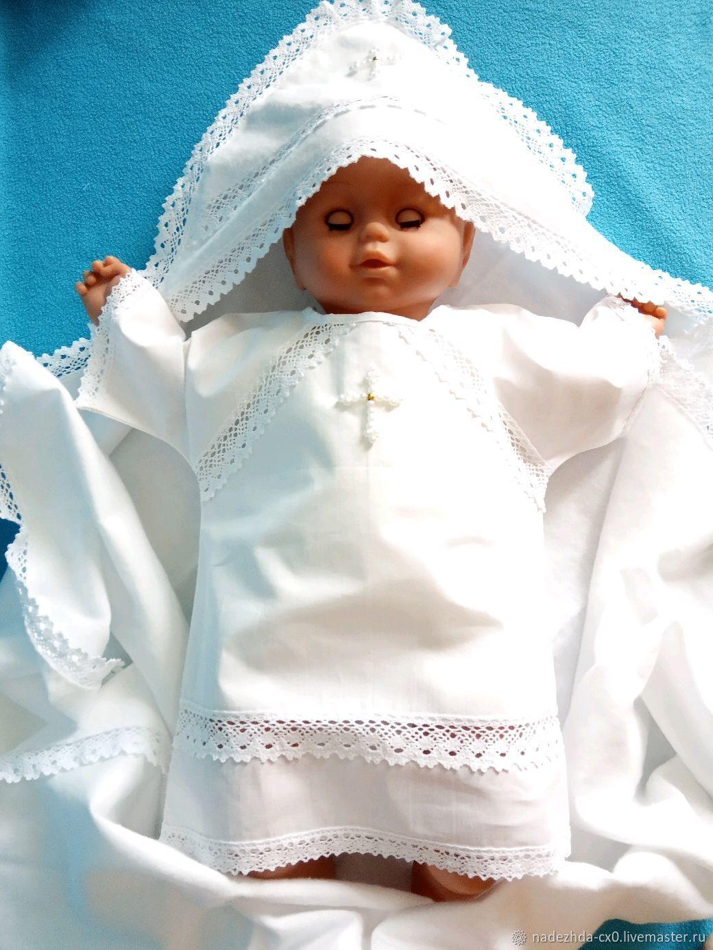 """Крестильный набор для мальчика """"Николай"""" 0-2года, Комплект для крещения, Санкт-Петербург,  Фото №1"""