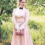 Одежда ручной работы. Ярмарка Мастеров - ручная работа Платье из вискозы Нежно-розовое. Handmade.