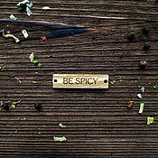 Этикетки ручной работы. Ярмарка Мастеров - ручная работа Бирка деревянная. Handmade.