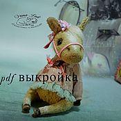 Материалы для творчества handmade. Livemaster - original item PATTERN Horse. Handmade.