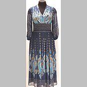 Одежда ручной работы. Ярмарка Мастеров - ручная работа Платье из шелкового шифона. Handmade.