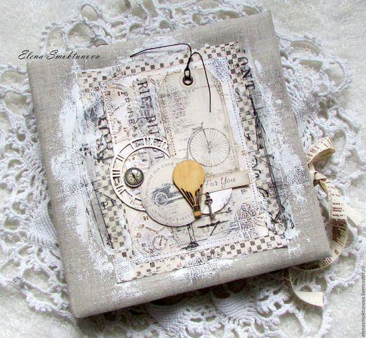 Персональные подарки ручной работы. Ярмарка Мастеров - ручная работа. Купить Мужской альбом. Handmade. Серый, мужской подарок, брадс