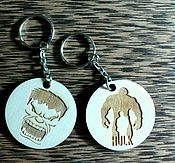 Аксессуары handmade. Livemaster - original item Keychain with movie characters and cartoons, logo. Handmade.