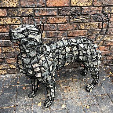 Для дома и интерьера ручной работы. Ярмарка Мастеров - ручная работа Скульптуры: Кот и Пёс. Handmade.