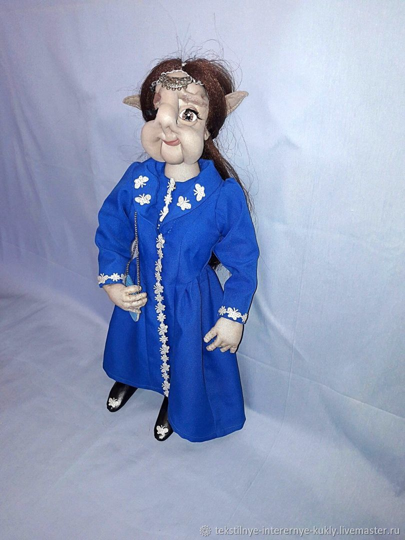 Эльфийка. Текстильная интерьерная кукла, Куклы, Балашиха, Фото №1