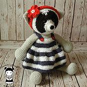 Куклы и игрушки handmade. Livemaster - original item Toy raccoon, sailor. Handmade.
