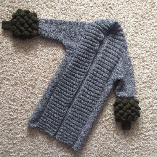 Кофты и свитера ручной работы. Ярмарка Мастеров - ручная работа. Купить Кардиган с шишечками на рукавах. Handmade. Лало кардиган, кардиган
