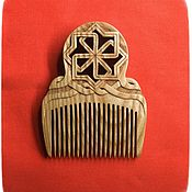 Сувениры и подарки handmade. Livemaster - original item Combs: Comb - amulet