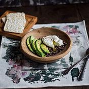 Тарелки ручной работы. Ярмарка Мастеров - ручная работа Деревянная тарелка дубовая. Handmade.