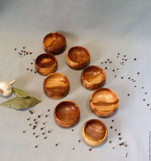 Кухня ручной работы. Ярмарка Мастеров - ручная работа. Купить Солонка из абрикоса. Handmade. Бежевый, пчелиный воск, посуда на заказ