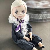 Куклы и игрушки ручной работы. Ярмарка Мастеров - ручная работа Пьероша. Подвижная кукла. Handmade.