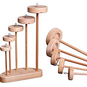 Материалы для творчества handmade. Livemaster - original item Collection of suspended spindles (drop spindles). Handmade.