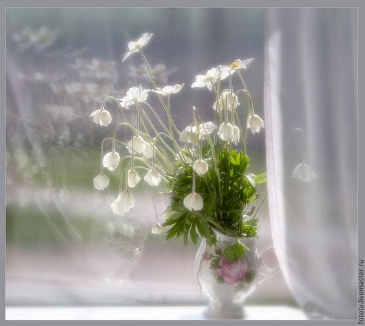 Фотокартины ручной работы. Ярмарка Мастеров - ручная работа. Купить Весенний букетик.. Handmade. Разноцветный, натюрморт, весна, природа, цветы