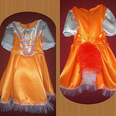 """Одежда ручной работы. Ярмарка Мастеров - ручная работа Платье """"Лисичка-сестричка"""". Handmade."""
