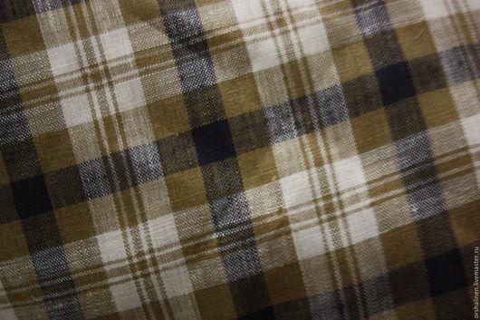 Шитье ручной работы. Ярмарка Мастеров - ручная работа. Купить Ткань блузочно -сорочечная. Handmade. Комбинированный, оршанский лен