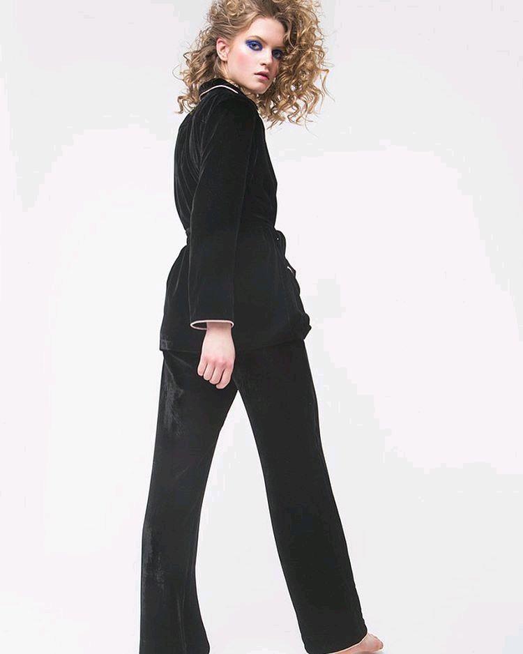 fe154ae8c7c Ярмарка Мастеров - ручная работа. Купить Бархатный костюм пижамного стиля. Костюмы  ручной работы. Бархатный костюм пижамного стиля. LOTTEN (Anna-Peshkova).