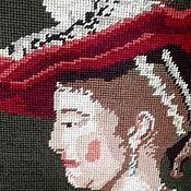 Винтаж handmade. Livemaster - original item Tapestry handmade, Germany. Handmade.