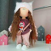 Куклы и игрушки handmade. Livemaster - original item interior doll. Play doll with removable clothing.. Handmade.