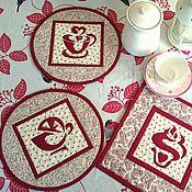 Для дома и интерьера handmade. Livemaster - original item Patchwork napkins Oh, darling! kit. Handmade.