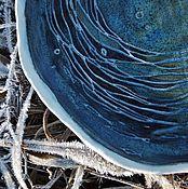 """Посуда ручной работы. Ярмарка Мастеров - ручная работа Тарелка """"Морское дно"""". Handmade."""