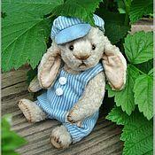 Куклы и игрушки ручной работы. Ярмарка Мастеров - ручная работа Зайчик Чарли, 11 см. Handmade.