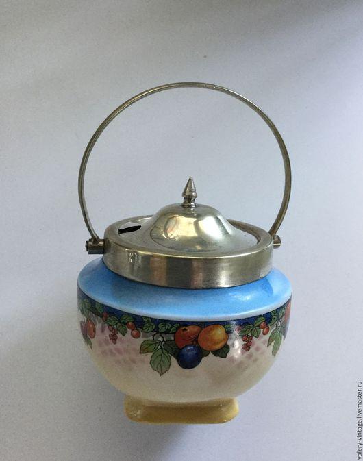 Винтажная посуда. Ярмарка Мастеров - ручная работа. Купить Винтажная сахарница,L & Sons Ltd Hanley Англия.. Handmade.