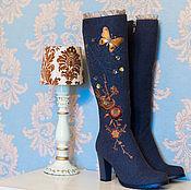 """Обувь ручной работы. Ярмарка Мастеров - ручная работа Валенки """"Розы"""". Handmade."""