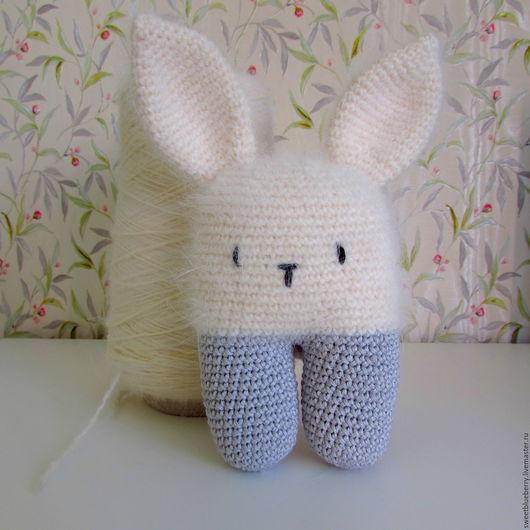 Игрушки животные, ручной работы. Ярмарка Мастеров - ручная работа. Купить Кролик Оля. Handmade. Белый, кролик игрушка