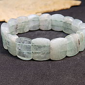handmade. Livemaster - original item Bracelet made of fluorite Mint green. Handmade.