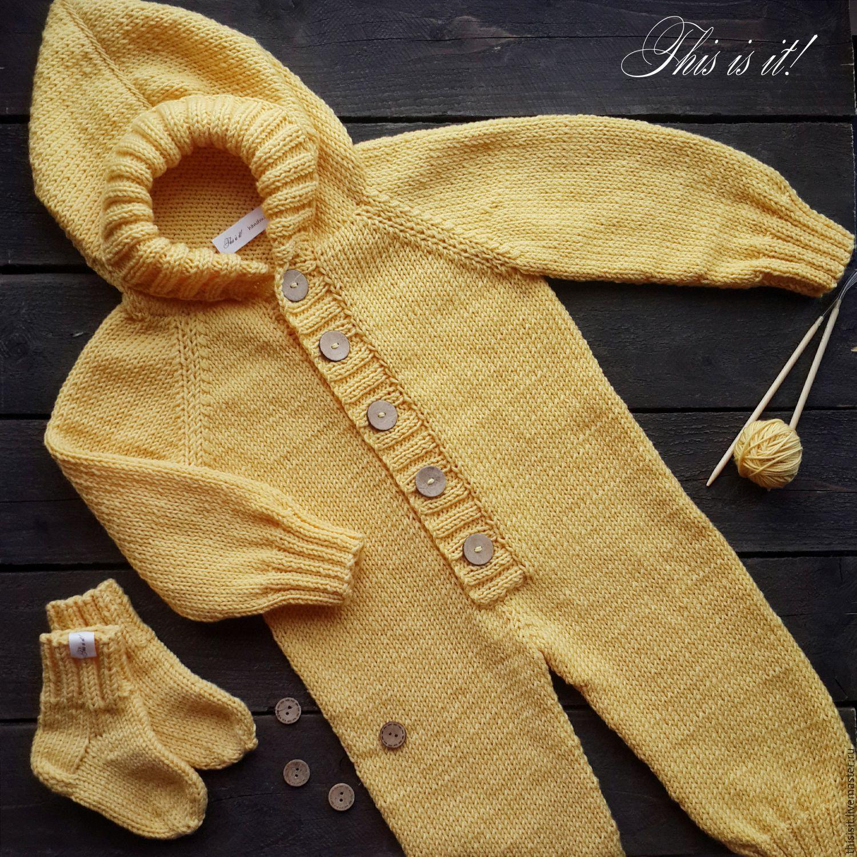 Вязание для новорожденного реглан