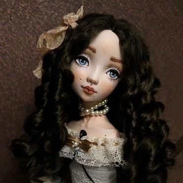"Dolls & toys handmade. Livemaster - original item Copy of Doll ""Catty"". Handmade."