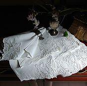 Винтаж ручной работы. Ярмарка Мастеров - ручная работа Старинные салфетки с вышивкой. Handmade.